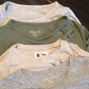 Children's Place Shirts & Tops - 4 pc bundle! CP / Gap ( Disney ) size 4